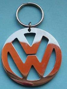 VW - VOLKSWAGEN - znak -logo klíčenka nerezavějící ocel !! LUXUS
