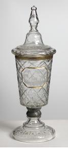 Lovecký pohár 53 cm - Broušené sklo - (C205)