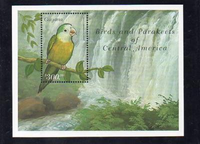Guayana-Papoušci 1999**  Michel Bl.618 / 5 €