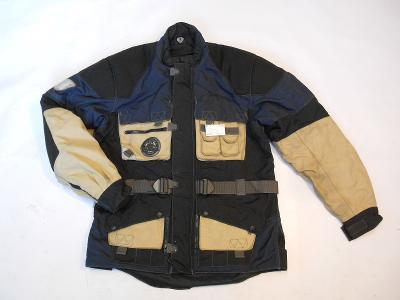 Textilní bunda  vel. M - chrániče, reflex. prvky