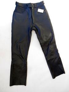 Kožené kalhoty POLO vel. 36 obvod pasu: 68 cm