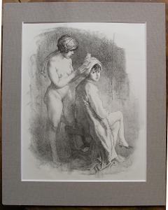Emil Orlik 1916 - Orig. lito - (C854)