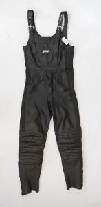 Kožené kalhoty s laclem POLO vel. 46 obvod pasu: 74 cm