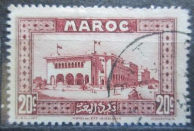 Francouzské Maroko 1933 Pošta v Casablance Mi# 99 1069