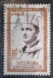 Maroko 1956 Sultan Mohammed V Mi# 409 1071
