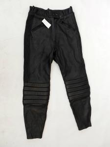 Kožené dámské kalhoty vel. 40 obvod pasu: 72 cm