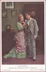 Herci (divadlo) * Girardi als Wendelin, propagační * M4681