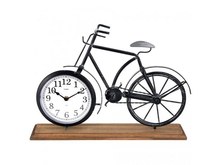 Kovové hodiny BIKE, stolní - Zařízení