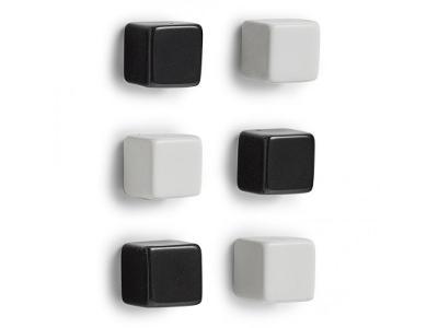 Magnety pro zavěšení poznámek CUBES - 6 ks, ZELLER
