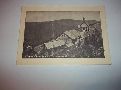 Vřesova studánka - Červenohorské sedlo okres Šumperk (B03)