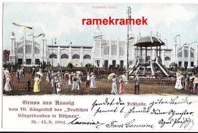 Ústí nad Labem výstava 1904 DA (Teplice Krupka Děčín Litoměřice)