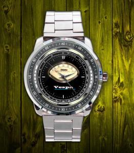 Vespa SPEEDOMETER 0-110 - hodinky nerezová ocel