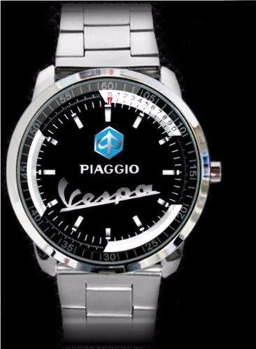 Piaggio Vespa Logo Design Sport - hodinky nerezová ocel