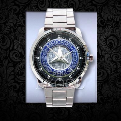 Mercedes Benz Logo Sport - hodinky nerezová ocel