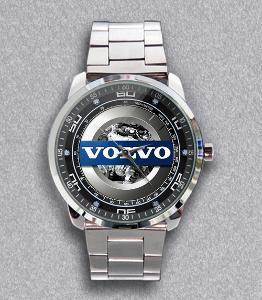 Volvo Logo Sport Engine - hodinky nerezová ocel