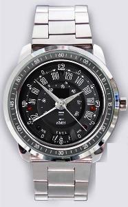 Mini Chooper Speedometer - hodinky nerezová ocel