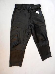 Kožené kalhoty dámské vel. 46 obvod pasu: 84 cm