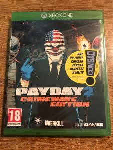 PAYDAY 2 : CRIME WAVE EDITION - NOVÁ - XBOX ONE