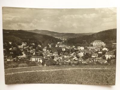 Luhačovice, Zlín - Celkový pohled 1959