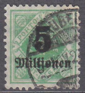 WÜRTTEMBERG - STARONĚMECKÝ STÁT 1923 Mi.: 181 - ražená