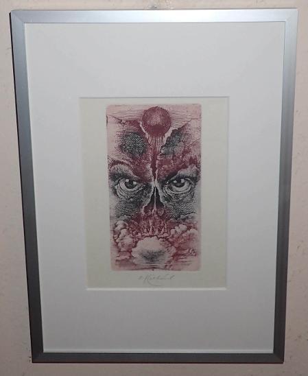 UPŘENÝ POHLED - OLDŘICH KULHÁNEK - Umění