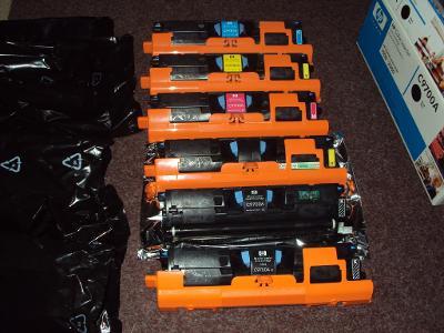 tonery C9700A C9701A C9702A C9703A pro HP LaserJet 1500/ 2550