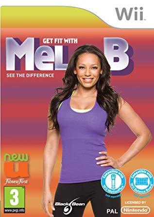Wii - GET FIT WITH MEL B