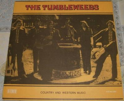 LP - The Tumbleweeds - Country and western music / Perf.stav!