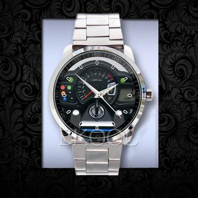 Suzuki Gladius SFV650 speedometer - hodinky nerezová ocel