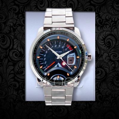 Suzuki 650 Gladius speedometer - hodinky nerezová ocel