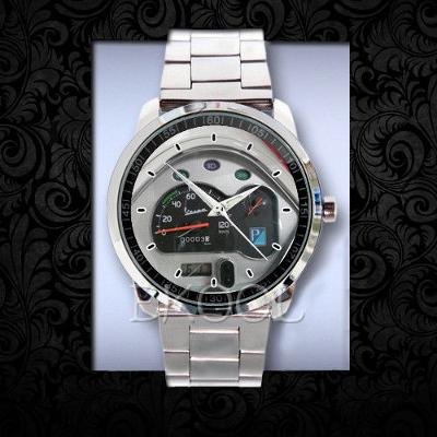 Old Vespa speedometer - hodinky nerezová ocel