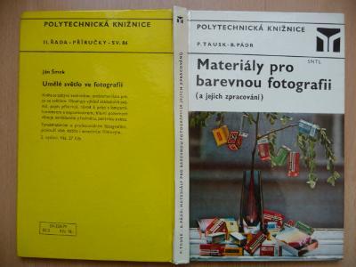 Materiály pro barevnou fotografii - Petr Tausk - SNTL 1979