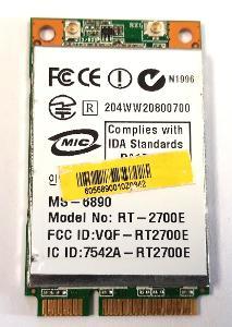 Wifi modul RT2700E z MSI GX630X