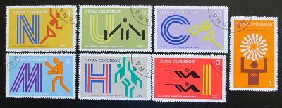 Kuba 1972 LOH Mnichov Mi# 1790-96 0120