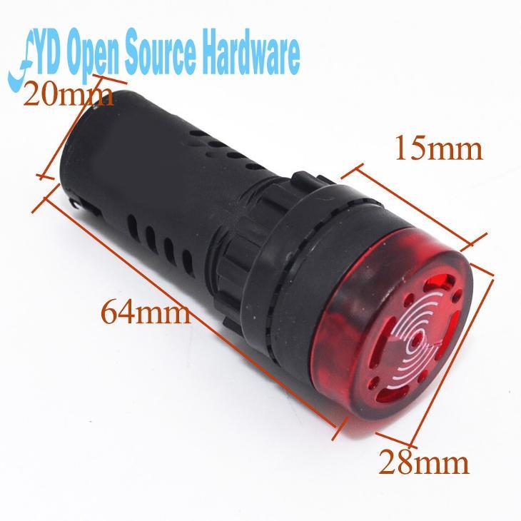Alarm ,světelný,zvukový 24V - Elektronika