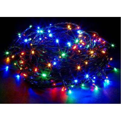 VÁNOČNÍ OSVĚTLENÍ 200 LED - ŘETĚZ BAREVNÝ LAMPIČKY