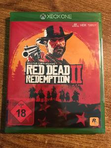 RED DEAD REDEMPTION 2 - XBOX ONE - NOVÁ - ZABALENÁ