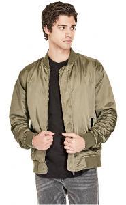 Pánská bunda bomber Guess - Russell Reversible Jacket vel. 2XL - KHAKI