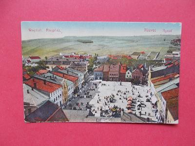Nový Jičín Neu Titschein  Odrau Odry Wagstadt Bílovec náměstí trhy