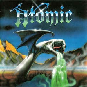 ATOMIC - Nuclear Thrash CD RARE 1991 Globus