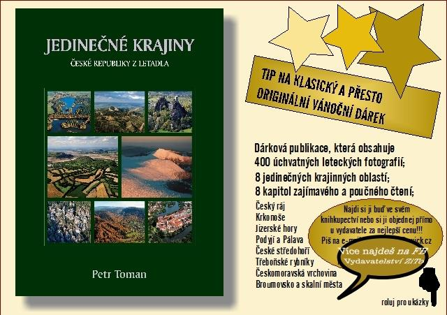 Kniha Jedinečné krajiny ČR z letadla - Knihy
