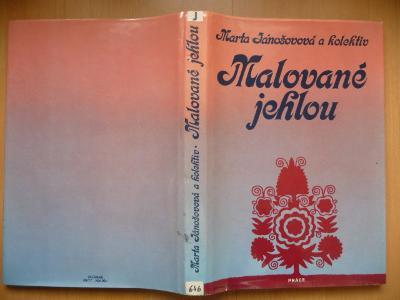 Kniha - Malované jehlou - Marta Jánošovová - PRÁCE 1985