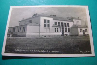 Slavičín-Mladotice-Brumov,okr. Zlín-Sokolovna-1927