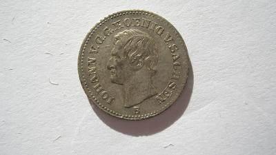 Sasko 1 groš 1867 B