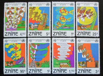 Zair 1982 Den ITU Mi# 747-54 0925