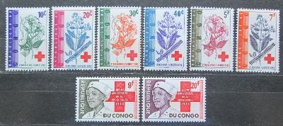 Kongo Dem. 1963 Mezinárodní červený kříž Mi# 119-26 0936