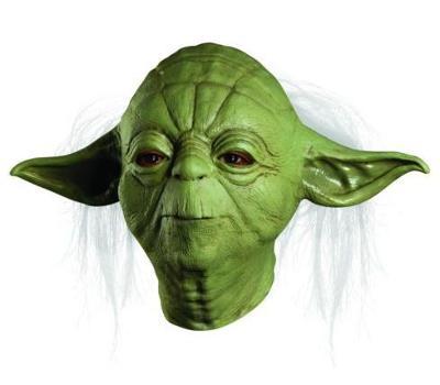 Star Wars / Yoda - maska Halloween