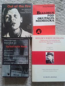BĚLORUSKO za německé okupace 1941-1944. 4 knihy.
