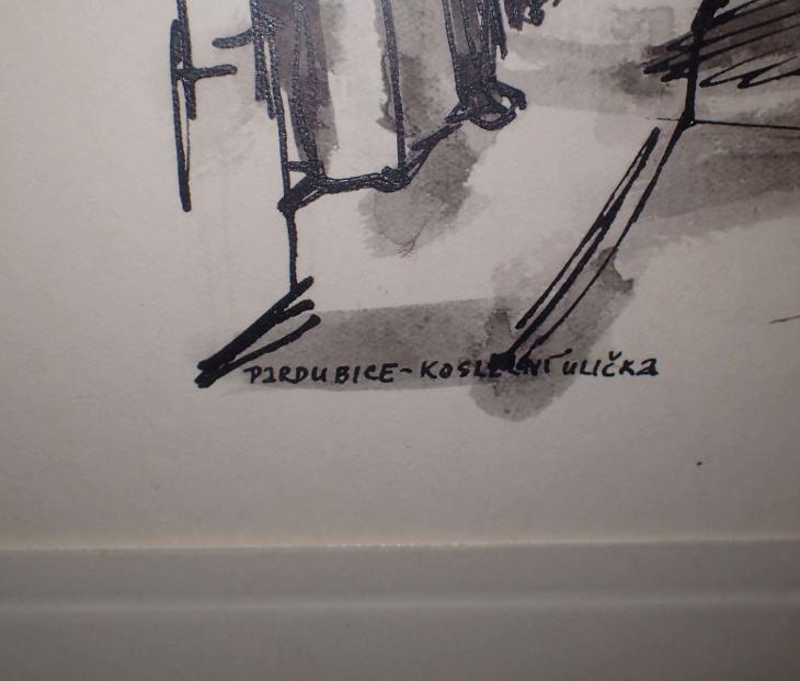 PARDUBICE KOSTELNÍ ULICE - KAREL OLDŘICH - Umění