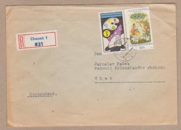 Doporučený dopis  Choceň